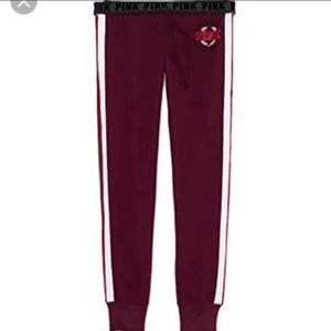Victoria's Secret Pink Limited Edition Gym Joggers